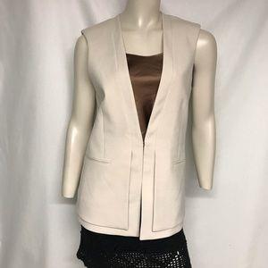 Bcbg maxazria long sleeveless  jacket